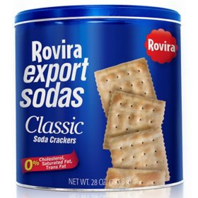 Rovira Export Soda Crackers Tin Can (28 oz.)