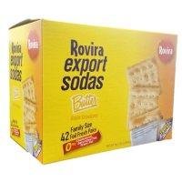 Rovira Export Sodas Butter Crackers, 46.2oz