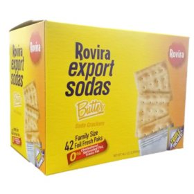 Rovira Export Sodas Butter Crackers, 46.2oz