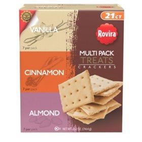 Rovira Multi Pack Treats Crackers (25 oz.)