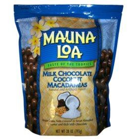 Mauna Loa Milk Chocolate & Coconut Covered Macadamia Nuts
