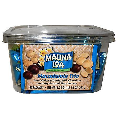 Mauna Loa Macadamia Trio (19.2 oz., 36 ct.)