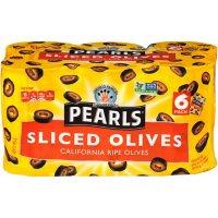 Pearls Sliced Olives (6.5 oz., 6 pk.)