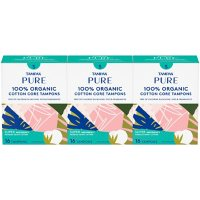 Tampax Pure Tampons Super Absorbency, Unscented (48 ct.)