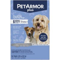 PetArmor Flea & Tick Collar for Dogs, 6 Months Protection - 2 ct.