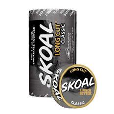 Skoal Long Cut, Classic (5-can roll)