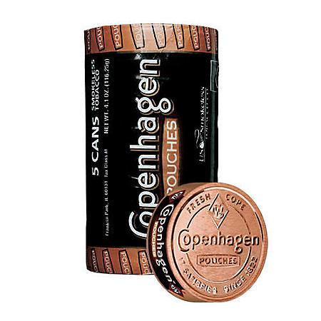 Copenhagen Pouches (5 can roll)