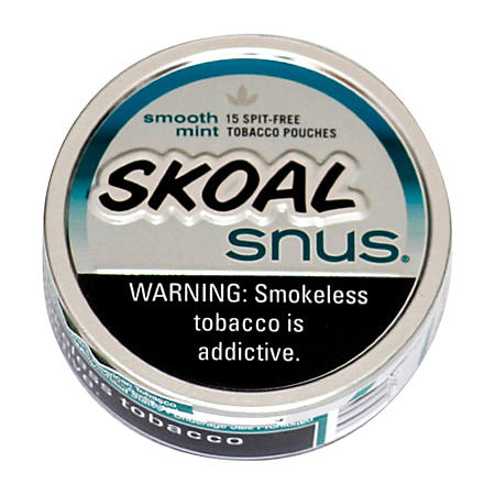 Skoal Snus Smooth Mint (5 can roll)