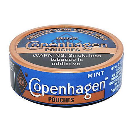 Copenhagen Pouches, Mint (5 can roll)