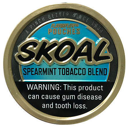 Skoal Pouches Spearmint Tobacco Blend (5 can roll)