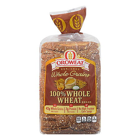 Oroweat 100% Whole Wheat Bread (24oz)