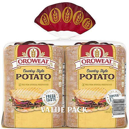 Oroweat Country Potato Bread (24oz / 2pk)