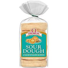 Oroweat Sourdough English Muffins (6 ct., 13 oz.)