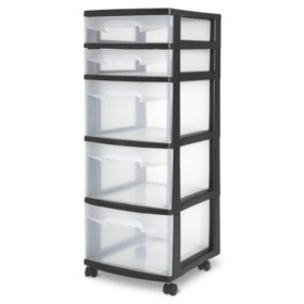 Sterilite 5 Drawer Cart