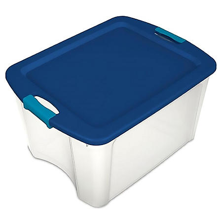 Sterilite Latch and Carry Totes (18 Gal./68 L)