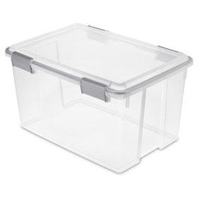 Sterilite 54-Quart Gasket Box