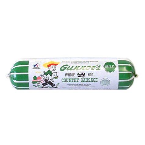 Gunnoe's Mild Country Roll Sausage (24 oz.)