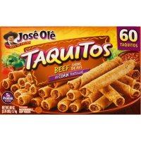Jose Ole Beef Taquitos, Frozen (60 ct.)