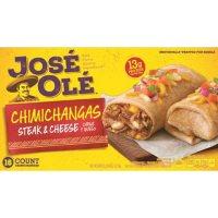 Jose Ole Steak & Cheese Chimichangas, Frozen (16 ct.)