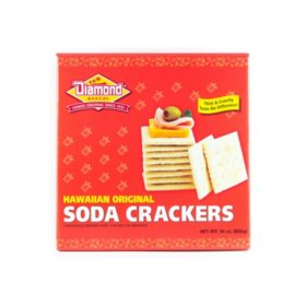 Hawaiian Original Soda Crackers (10 oz., 3 pk.)