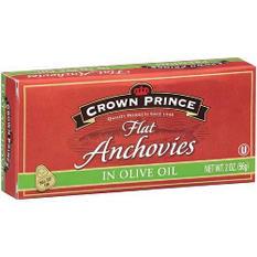 Crown Prince Premium Flat Anchovies (2 oz. cans, 6 pk.)