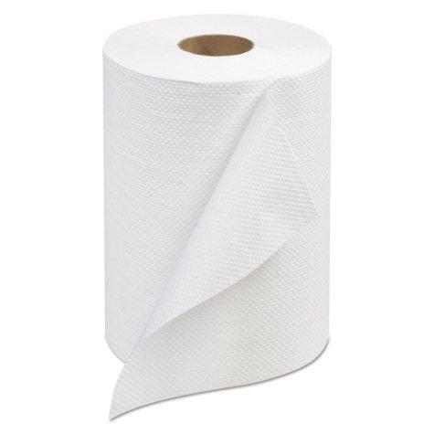 Tork Hard-Roll Towels, White, 7 7/8 Wide x 350ft, 5</li>5 dia -  12 Rolls/Carton