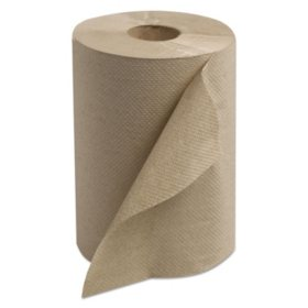 Tork Hard-Roll Towels, Natural, 7 7/8 Wide x 350ft, 5.5 dia -  12 Rolls/Carton