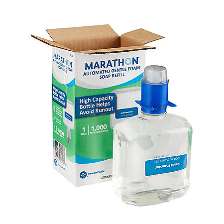 Marathon® Automated Gentle Foam Soap Refill, Dye- and Fragrance-Free