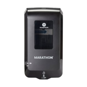 Marathon Automated Soap Dispenser, Black