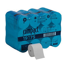 Georgia Pacific - Compact, Coreless Toilet Paper, 2-play, 1,000 Sheets - 36 Rolls