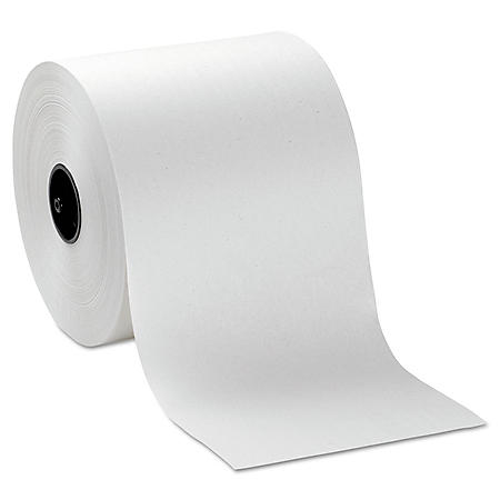 """Georgia Pacific Professional Hardwound Roll Paper Towels, 7"""" x 1000', White (6 rolls)"""