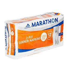 Marathon Embossed Dinner Napkins, 1/8 Fold (1,200 Napkins)