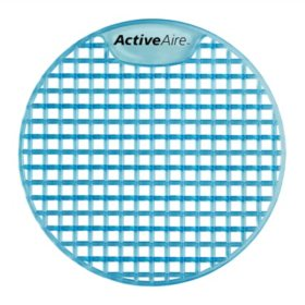ActiveAire Deodorizer Urinal Screen, 12 Count (Choose Your Scent)