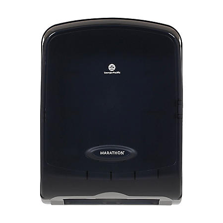 Marathon® Folded Paper Towel Dispenser, Smoke