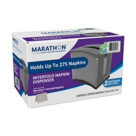 Marathon Interfold Napkin Dispenser (2 ct.)