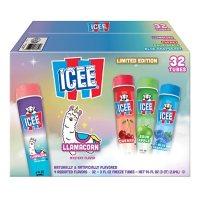 ICEE Freeze Squeeze-Up Tubes Variety Bonus Pack (32 ct.)