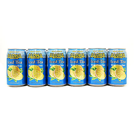 Aloha Maid Natural Iced Tea (11.5oz / 24pk)