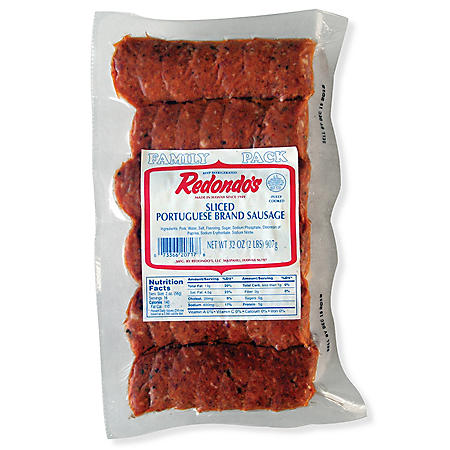 Redondo's Sliced Portuguese Sausage (2 lbs.)