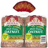 Arnold Whole Grains Oatnut Bread (24oz/2pk)