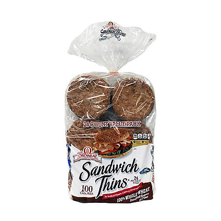 Oroweat Whole Wheat Sandwich Thins (32oz)