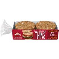 Arnold Whole Wheat Sandwich Thins (2 oz./6 pk.)