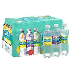 Zephyrhills Sparkling Spring Water, Assorted Flavors (16.9 oz., 24 pk.)