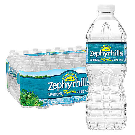 Zephyrhills 100% Natural Spring Water (16.9oz / 40pk)