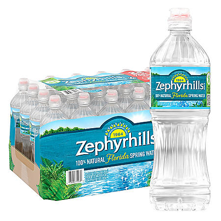 Zephyrhills 100% Natural Spring Water (23.7oz / 24pk)