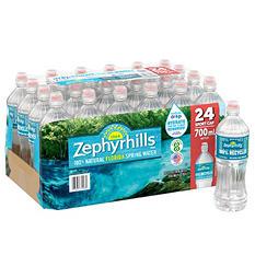 Zephyrhills 100% Natural Spring Water (700 ml bottles, 24 pk.)