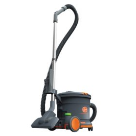 Hoover Commercial HushTone Canister Vacuum Cleaner, Gray (10.75 lb.)