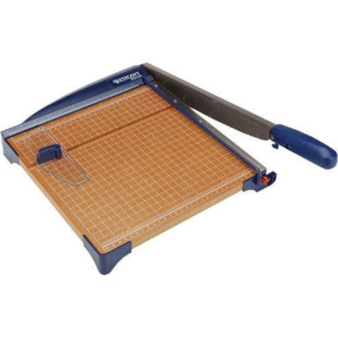 """Guillotine Paper Trimmer 12"""""""