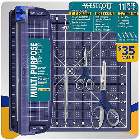 Westcott 11-Piece Craft Kit (Choose Color)