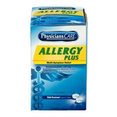 PhysiciansCare Allergy Plus Antihistamine Medication (2 tablets each, 50 pk.)