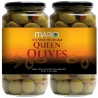 Mario Stuffed Queen Olives (21 oz., 2 pk.)